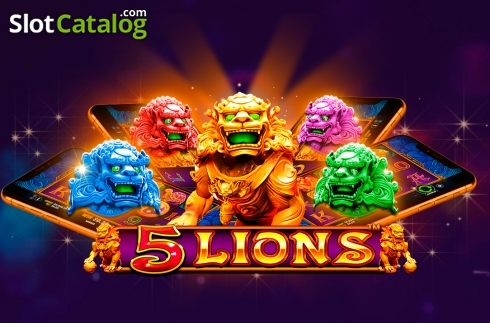 5 Lions from Pragmatic Play