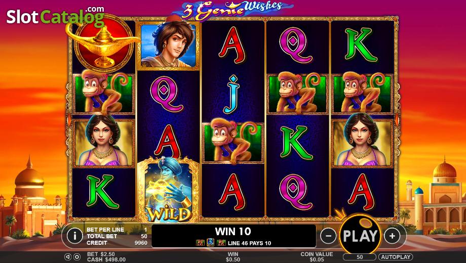 Play Wild Wishes Slots at Casino.com UK