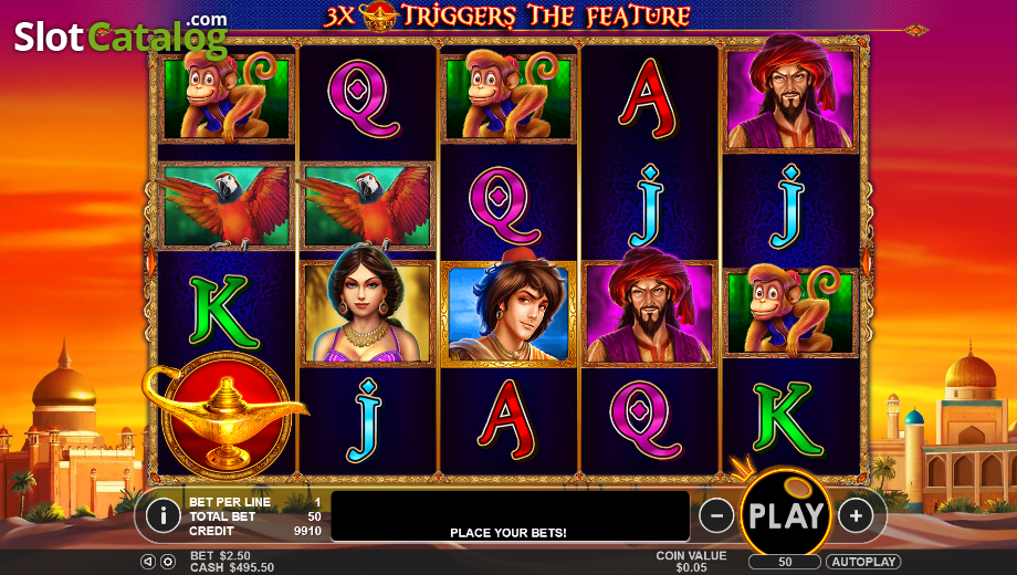 Genie Wishes Slot - Play Free Casino Slot Machine Games
