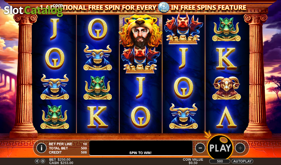 Hercules Son of Zeus Slot ᐈ Demo game + Review