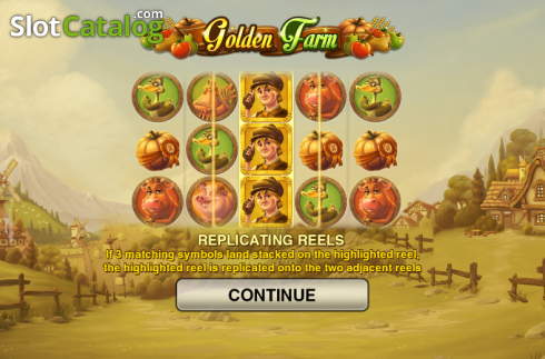 Game features. Golden Farm (Video Slots from Push Gaming)
