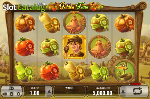 Reels. Golden Farm (Video Slots from Push Gaming)