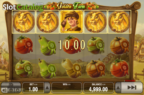 Wild. Golden Farm (Video Slots from Push Gaming)