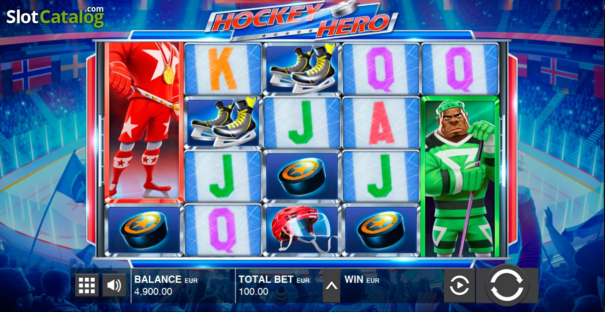Hockey Hero Slot - Play this Game by Push Gaming Online