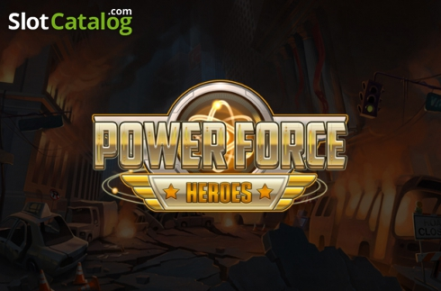 Power Force Heroes. Power Force Heroes (Video Slot from Push Gaming)