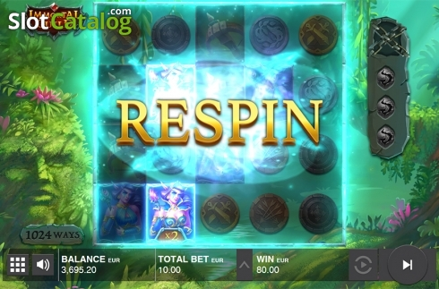 Collapsing symbols feature screen 3. Immortal Guild (Video Slot from Push Gaming)