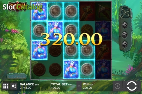 Win screen 3. Immortal Guild (Video Slot from Push Gaming)