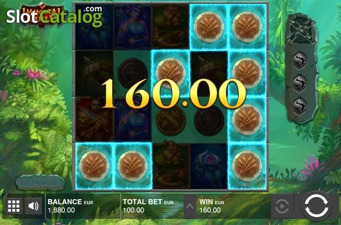 Win screen 4. Immortal Guild (Video Slot from Push Gaming)