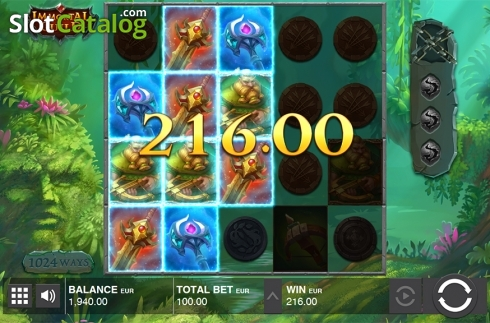 Win screen 5. Immortal Guild (Video Slot from Push Gaming)