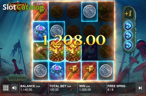 Free spins screen 5. Immortal Guild (Video Slot from Push Gaming)
