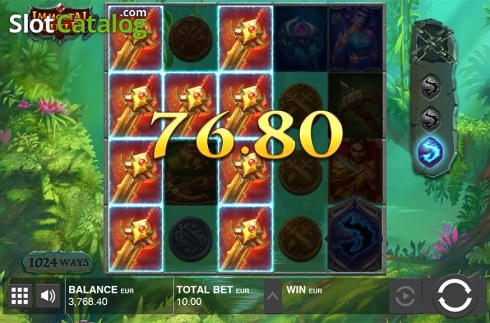 Win screen 2. Immortal Guild (Video Slot from Push Gaming)