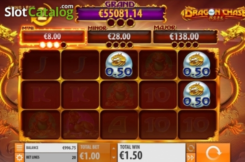 Jackpot 3. Dragon Chase (Video Slot from Quickspin)