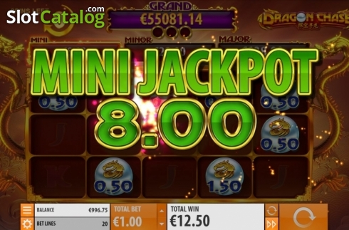 Jackpot 4. Dragon Chase (Video Slot from Quickspin)