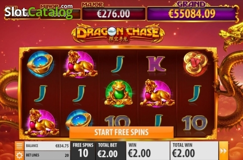 Free Spins 2. Dragon Chase (Video Slot from Quickspin)