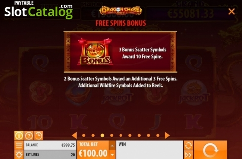 Features 3. Dragon Chase (Video Slot from Quickspin)