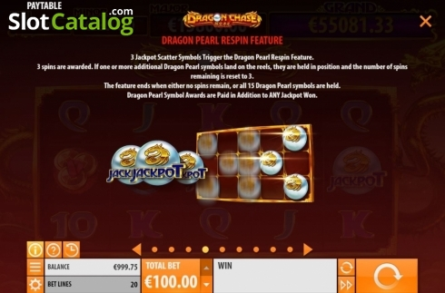 Features 4. Dragon Chase (Video Slot from Quickspin)
