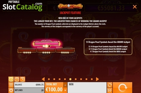 Features 5. Dragon Chase (Video Slot from Quickspin)