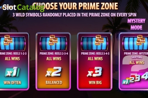 Free Spins 2. Prime Zone (Video Slot from Quickspin)