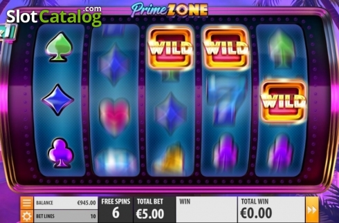 Free Spins 3. Prime Zone (Video Slot from Quickspin)