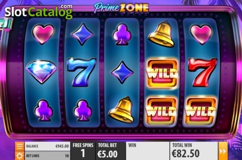 Free Spins 4. Prime Zone (Video Slot from Quickspin)