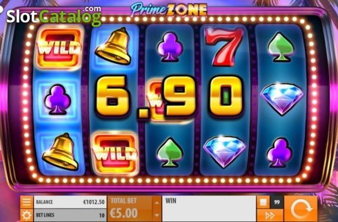 Win Screen 1. Prime Zone (Video Slot from Quickspin)
