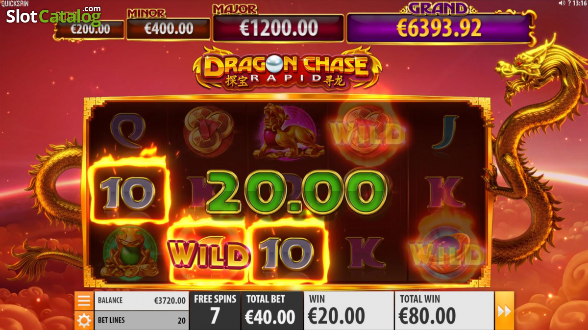 Spiele Dragon Chase Rapid - Video Slots Online