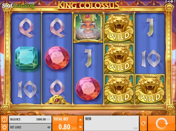 Play King Colossus and the other great game at Casumo