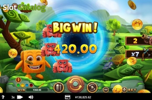 Big Win!. Cubee (Video Slot from RTG)