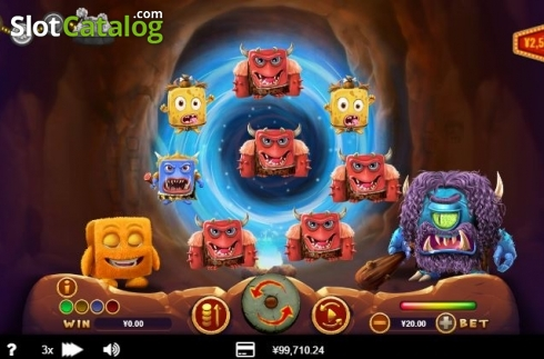 Reel Screen 1. Cubee (Video Slot from RTG)