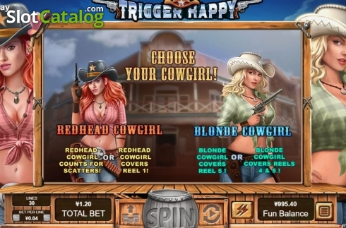 Free Spins. Trigger Happy (Video Slot from RTG)