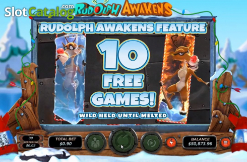 Free Spins 1. Rudolph Awakens (Video Slots from RTG)