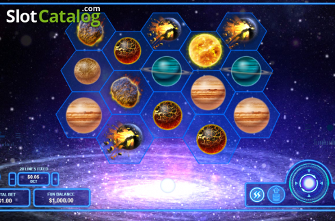 Reel Screen. Pulsar (Video Slots from RTG)