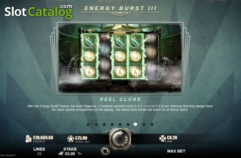 Features 6. Nikola Tesla's Incredible Machine (Video Slot from Rabcat)