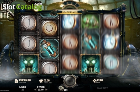 Features 2. Nikola Tesla's Incredible Machine (Video Slot from Rabcat)