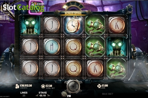 Features 3. Nikola Tesla's Incredible Machine (Video Slot from Rabcat)