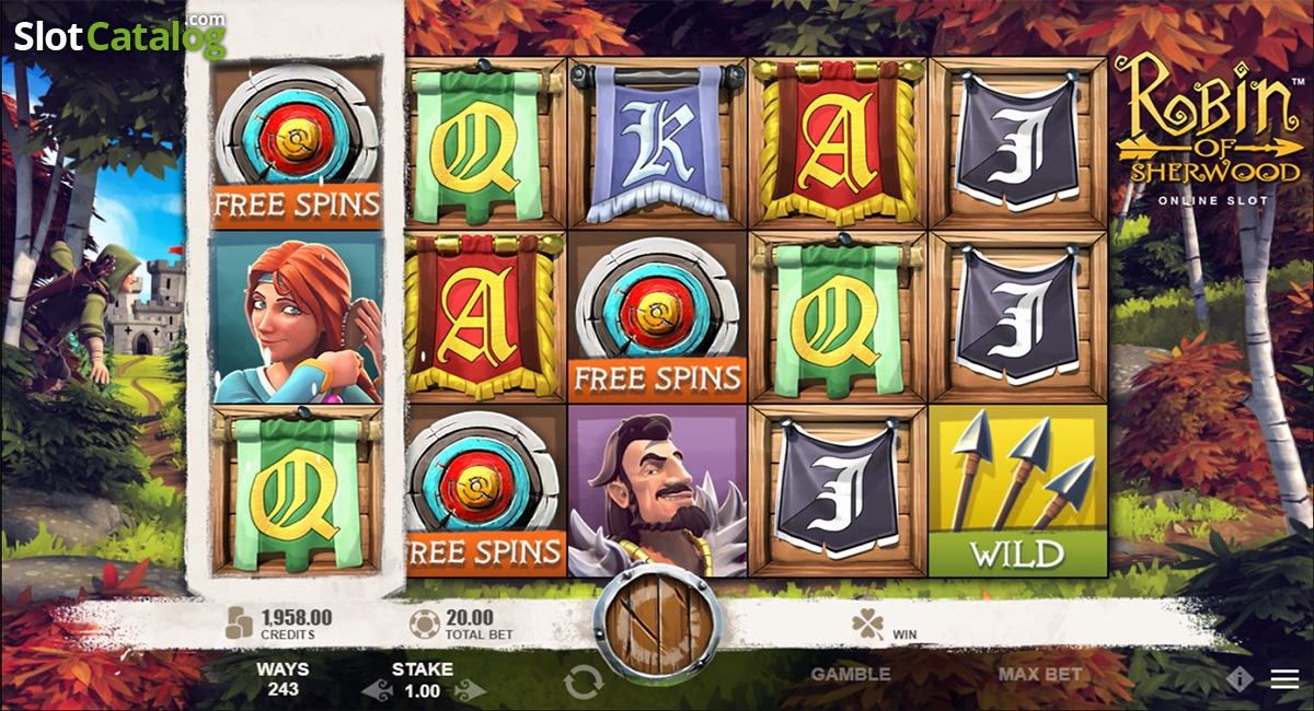 Spiele Robin Of Sherwood - Video Slots Online