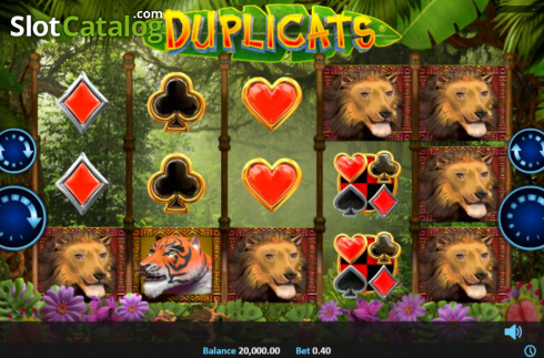 Reel Screen. Duplicats (Video Slots from Realistic)