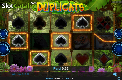 Win Screen 1. Duplicats (Video Slots from Realistic)