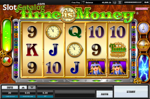 Time is money. Time is money (Video Slots from Realistic)