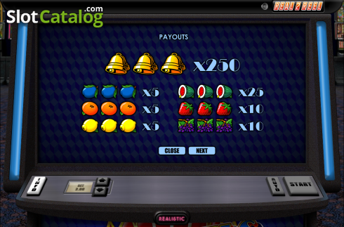 Screen2. Top Reels (Video Slot from Realistic)