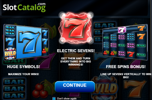 Electric Sevens (Video Slot från Red Rake)