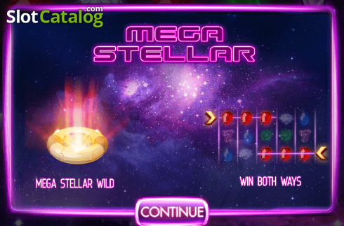 Megastellar (Video Slot från Red Rake)