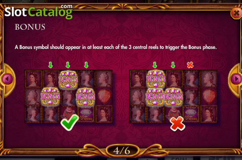 Paytable 4. Queens and Diamonds (Video Slot from Red Rake)