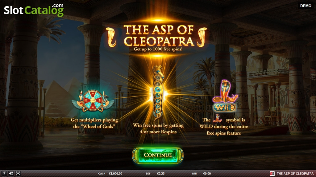 Spiele The Asp Of Cleopatra - Video Slots Online