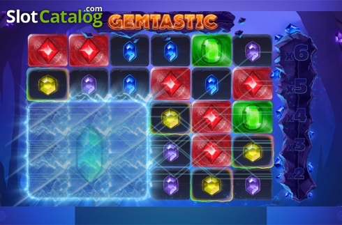 Win screen 6. Gemtastic (Video Slot from Red Tiger)