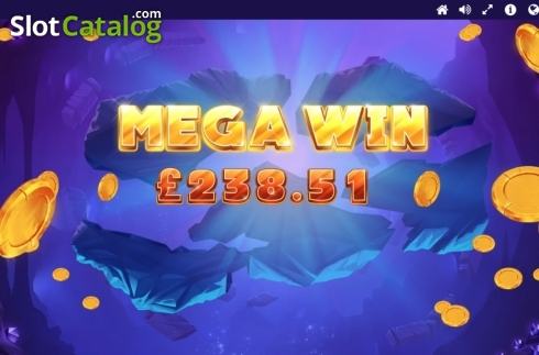 Mega Win. Gemtastic (Video Slot from Red Tiger)