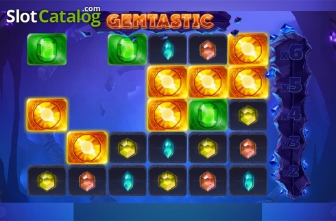 Win screen 4. Gemtastic (Video Slot from Red Tiger)
