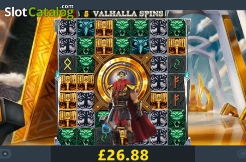 Free Spins. Thor's Lightning (Video Slot from Red Tiger)