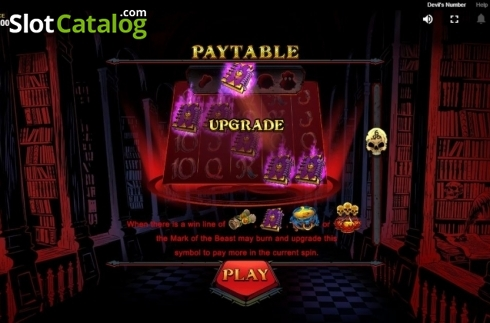 Upgrade. Devil's Number (Video Slot from Red Tiger)