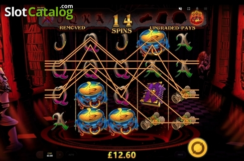 Game Screen. Devil's Number (Video Slot from Red Tiger)